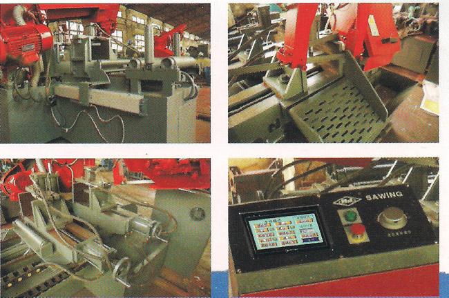gz4028卧式带锯床,数控带锯床